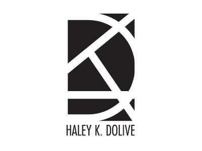 Haley K. Dolive | Personal Identity  identity branding design logo