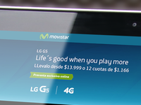 DiseñolLanding page LG G5 | Movistar Argentina