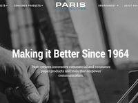 Paris Corporate Web Redesign