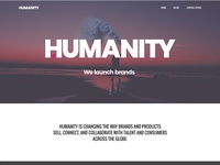 Humanity Brand Concept