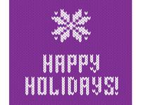 Happy Holidays - Sunbird - Ugly Sweater Theme :)