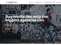 Excel Media Services - Brand/Web Design