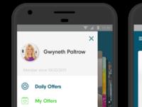 Social Savings App UI