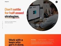 Agency Website Concept