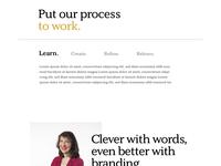 Brand Redesign Concept Board