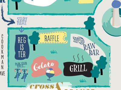 Asbury Park - Wine Festival Map