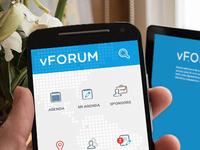 Aplicación para evento vFORUM