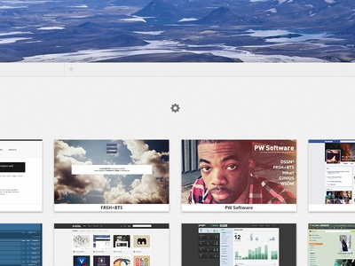 Aries Browser — Blank Page