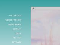 Desktop Side Menu