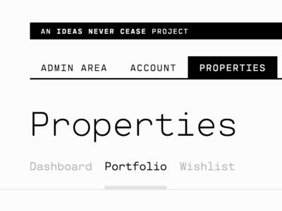 BeachfrontDigital | Properties page digital beachfront table dashboard