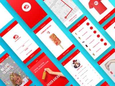 Ice Cream / Food Truck Mobile App