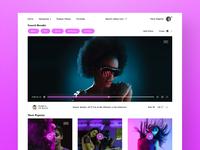 Music videos  web version