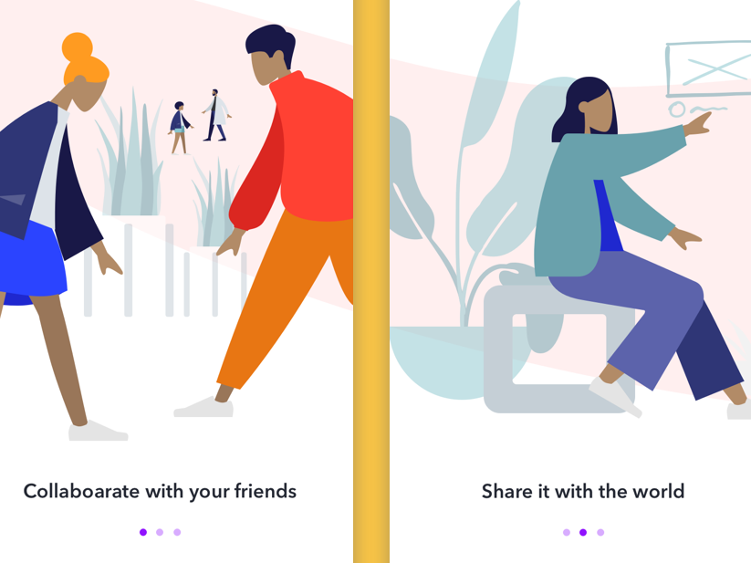 Onboarding Concept illustration web exploration visual design healthcare los angeles designers concept design ilustration product design user interface vector ui design user experience ux user center design mobile app mobile ui