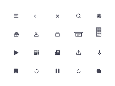 Icons & Illustration – Cassette ios mobile sketch flat branding app vector design product ui ux illustration