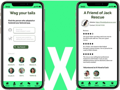 Willow: Foster/Adopter Search and Agency Reviews design app creation app figma ux