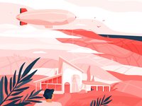 Landscape illustration with @Lunamik (part 3)
