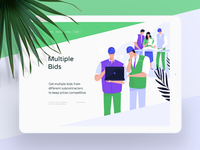 """Multiple Bids"" illustration with @Ettrics (part 1)"