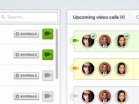 Video conferencing web app