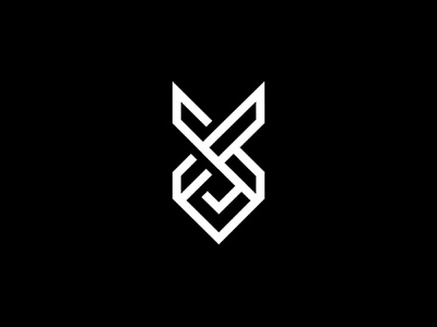 XO branding o connected x black mark brand logo
