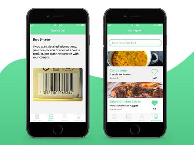 Smartisit II mobile interface icon flat ui ux screens app ios11 minimal smart