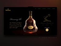 Landing page for Hennessy