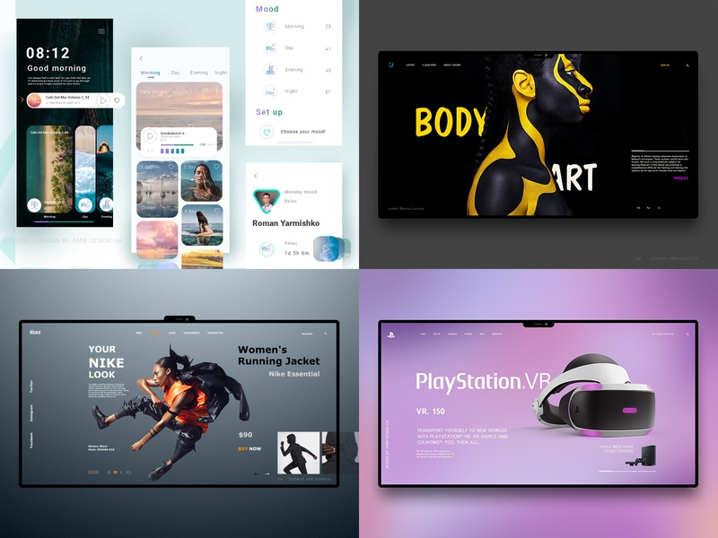 Check out my #Top4Shots on @Dribbble from 2018 shopify nike modern minimal typography branding design app ui  ux luxury brand webdesign web landing page ecommerce ux design store landing ux ui