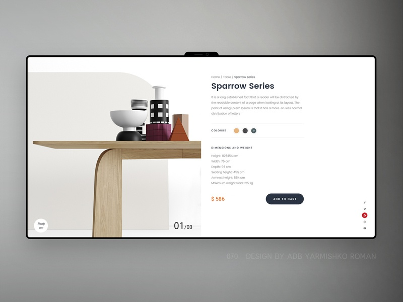 Table_store furniture table loft brand webdesign ux design ux ui shop shopify store shopify store landing main homepage home landing page ecommerce