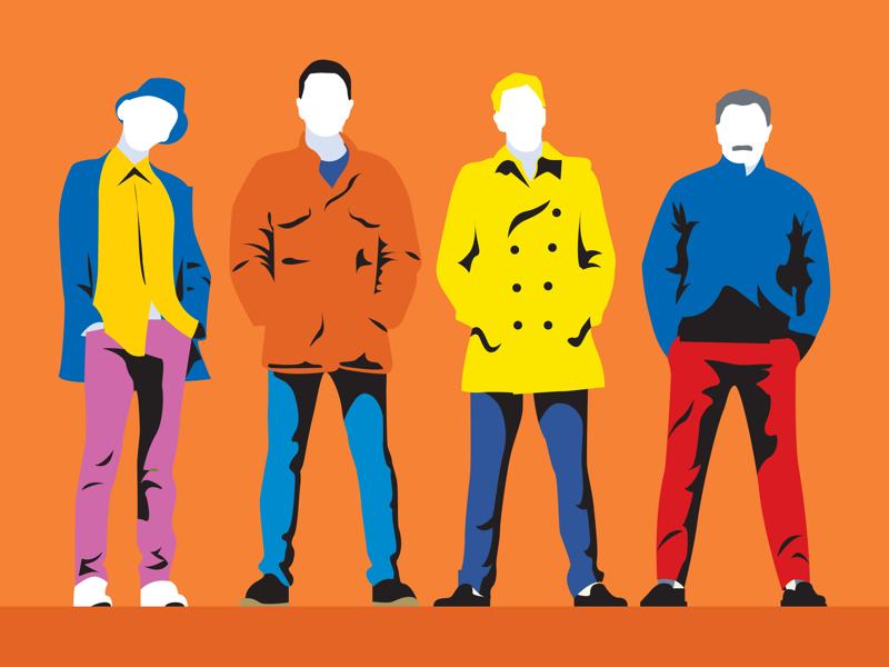 Trainspotting wacom minimalism flat minimalistic pop art digital art vector illustrator illustration
