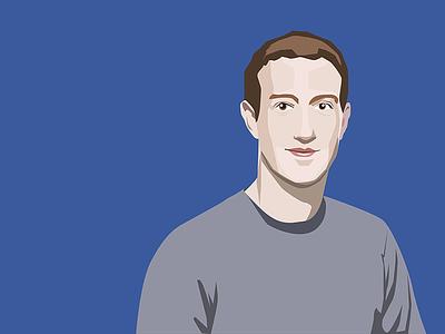 Mark Zuckerberg portrait vector portrait facebook ceo zuckerberg mark
