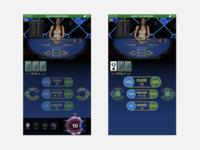 Online casino game: Mobile UI/UX design