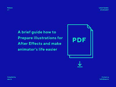 Worflow Guide v1 outline mograph tips pdf guide illustration animation