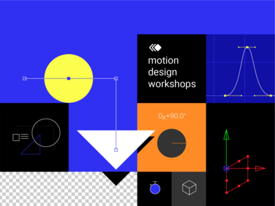 Motion design workshops cover