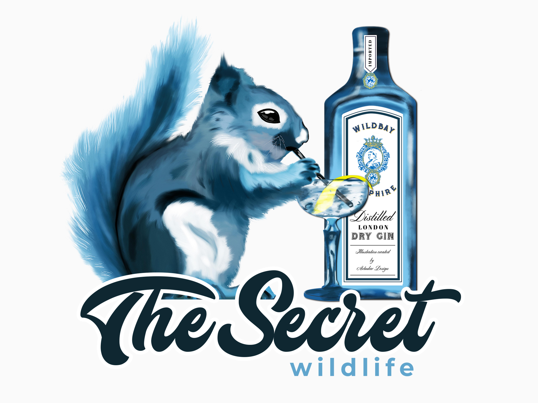 Squirrels like gin hr
