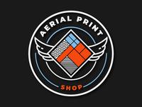 Aerial Print Shop
