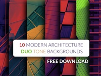 FREE 10 modern architecture duo tone backgrounds
