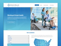 Ernest Health Career Site Mock