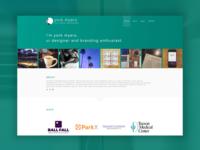 Portfolio site concept