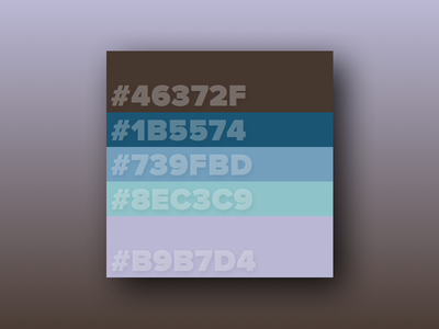 Color Palette palette color colors