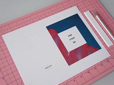 Valentine's pink typography graphicdesign valentinesday cards diy