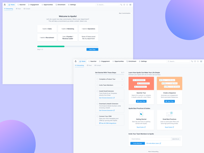 Onboarding / Short Version onboard step read guide checklist check tour guide steps onboarding illustration onboarding screens onboarding ui onboarding ui brand identity analytics dashboard saas strategy