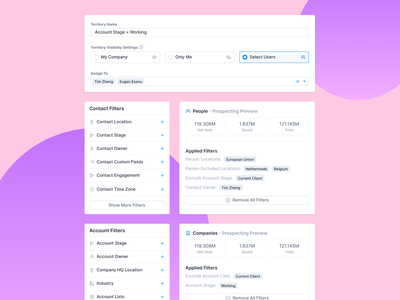 UI Elements settings page settings ui sort by settings visibility add filter remove filter sorting sort filtering filter ui filters filter ui analytics dashboard strategy saas