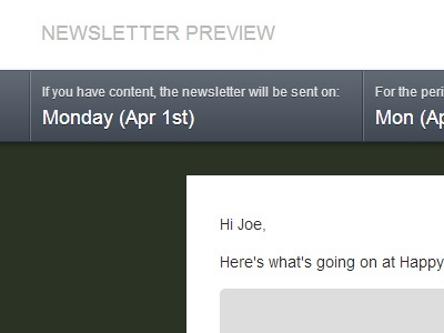 Newsletter Preview