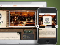 Landing Page highlighting Mobile