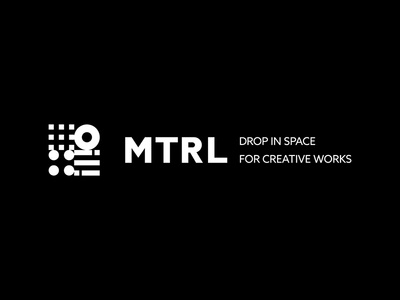 MTRL co-working kyoto japan brand identity logo