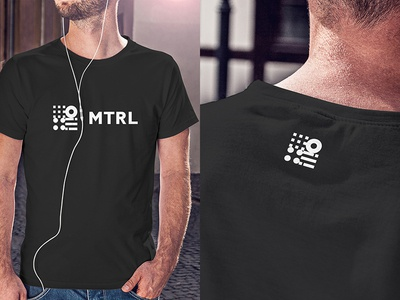 MTRL_T shirts t shirts logo kyoto japan co-working identity brand