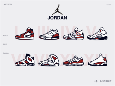 Nike Shoes icons
