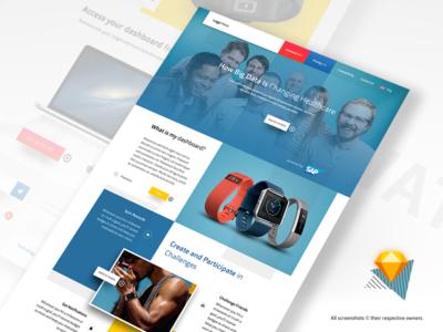 🏀 Current  Website Project  website sketch