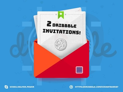 🏀 2x Dribbble invites giveaway ✋