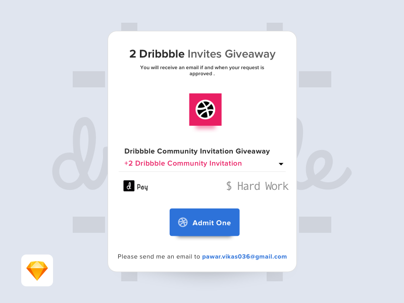 Hey Guys, I have 2 dribbble invites to share... invitation dribbble