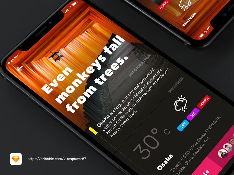 Something new I've been working on. ui ux sketch